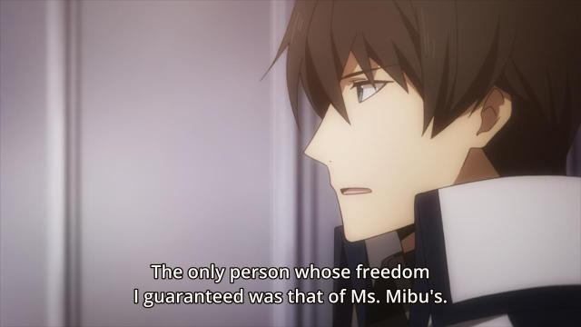 Mahouka Koukou no Rettousei / The Irregular at Magic High School episode 5 anime review - Shiba Tatsuya the Rules-Lawyer