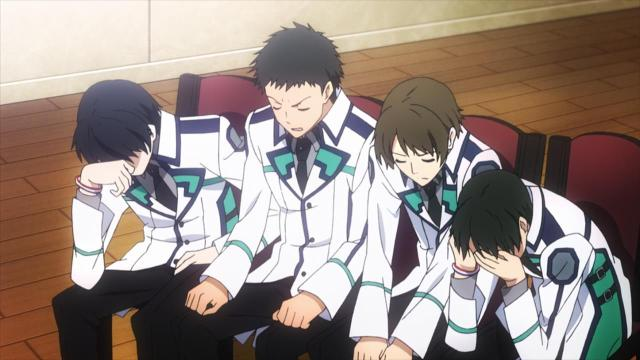 Mahouka Koukou no Rettousei / The Irregular at Magic High School episode 5 anime review - The cowardly weeds didn't want peace!