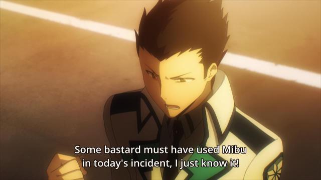 Mahouka Koukou no Rettousei / The Irregular at Magic High School episode 6 anime review - Kirihara Takeaki