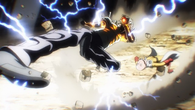 One-Punch Man anime Episode 5 notes - Genos and Saitama spar