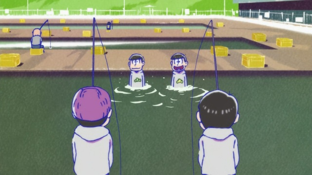 Osomatsu-san Episode 2 - Pool-time shenanigans