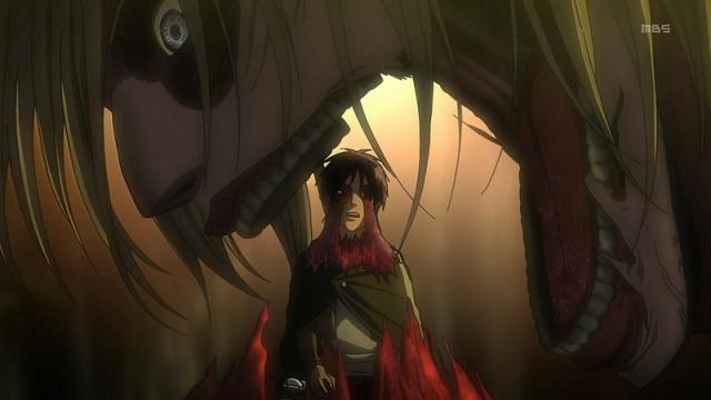 Female Titan eats Eren Yeager - Shingeki no Kyojin / Attack on Titan
