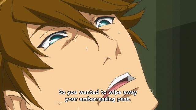 Concrete Revolutio: Choujin Gensou anime Episode 10 notes - Yoshimura Hyouma wanted to wipe away his embarrassing past
