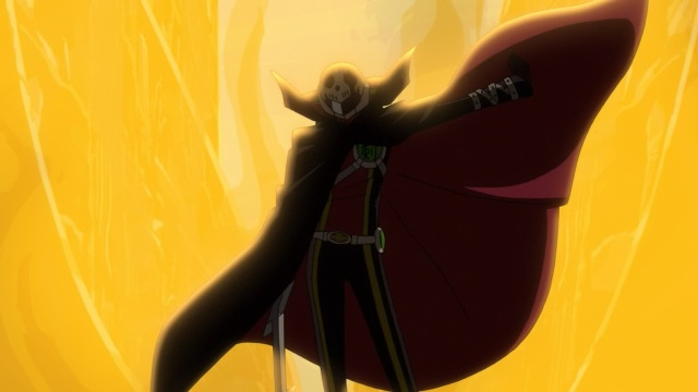 Concrete Revolutio: Choujin Gensou anime Episode 11 notes - Phantom Sword Claude is very cool