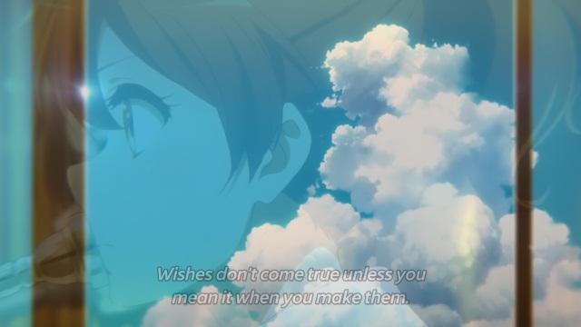 Hibike! Euphonium / Sound! Euphonium anime episode 13 - Oumae Kumiko about meaning wishes