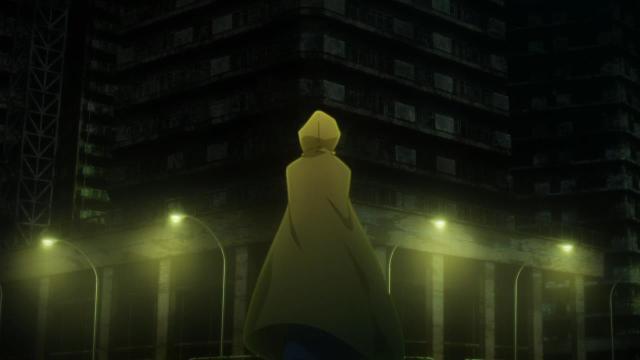 Kara no Kyoukai 1 / Garden of Sinners - Overlooking View / Fukan Fuukei anime - Fisherwoman Ryougi Shiki