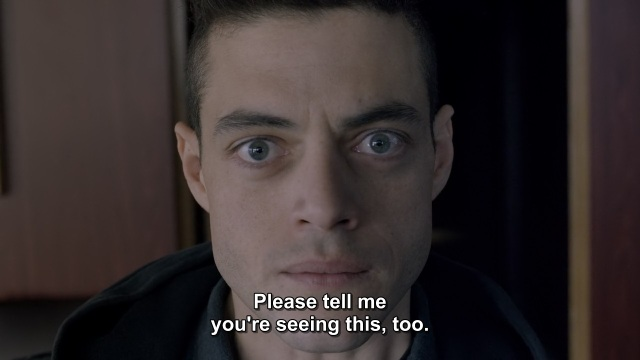 Mr. Robot Episode 1 - Elliot Alderson needs confirmation