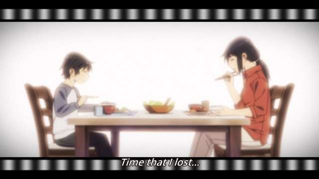 Boku dake ga Inai Machi / ERASED anime Episode 2 Notes - Fujinuma Satorou remembering dinner with his mother