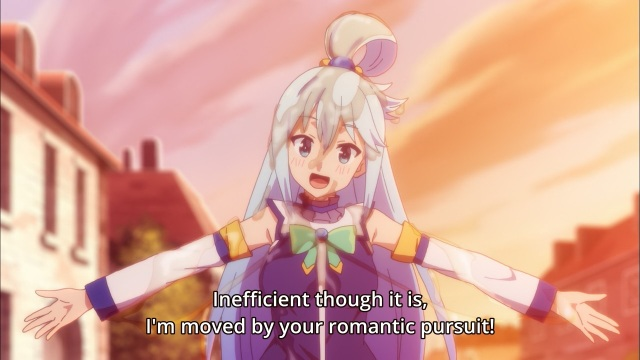 Kono Subarashii Sekai ni Shukufuku wo! / Give Blessings to This Wonderful World! /KonoSuba anime Episode 2 - Aqua is hopeless