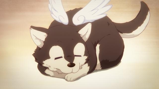 Musaigen no Phantom World / Myriad Colors Phantom World anime Episode 2 Notes - Sleeping Marchosias
