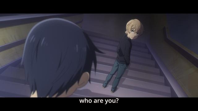Boku dake ga Inai Machi / ERASED anime Episode 7 notes - Kobayashi Kenya asks Fujinuma Satorou who he is