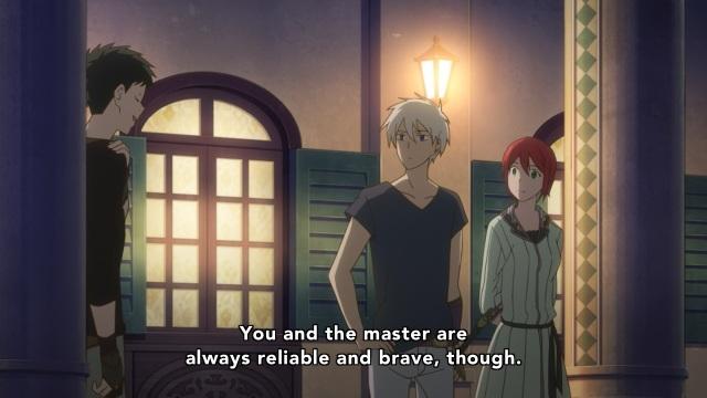 Akagami no Shirayuki Hime anime Episode 21 - Obi on how perfect Zen and Shirayuki are