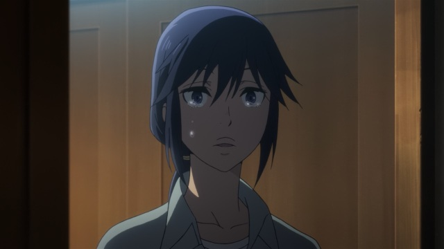 Boku dake ga Inai Machi / ERASED anime Episode 11 - Crying Fujinoma Sachiko