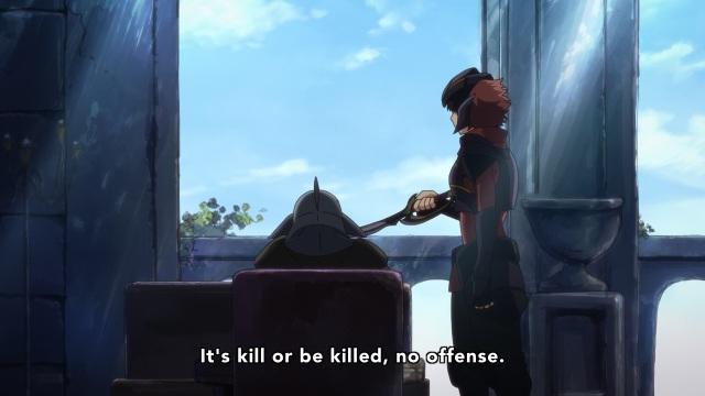 Hai to Gensou no Grimgar / Grimgar of Fantasy and Ash anime Episode 8 - Ranta and the goblin, kill or be killed