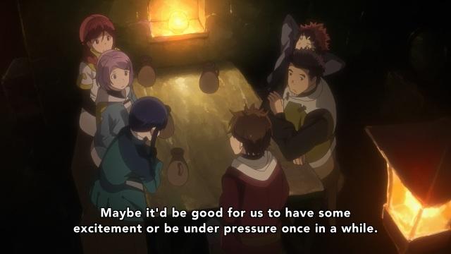 Hai to Gensou no Grimgar / Grimgar of Fantasy and Ash anime Episode 9 - Asking for excitement and danger
