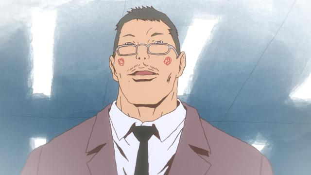 Ping Pong the Animation episode 11 notes - Kazama the Elder looks young