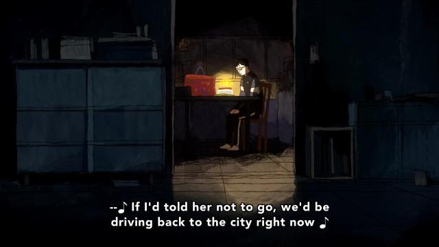 Ping Pong the Animation episode 6 notes - Tsukimoto Makoto / Smile sits alone