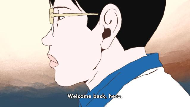 Ping Pong the Animation episode 8 notes - Tsukimoto Makoto / Smile welcomes back the hero