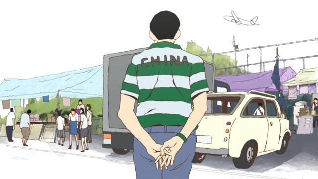 Ping Pong the Animation episode 8 notes - Kong Wenge's coach departs - death of the dream