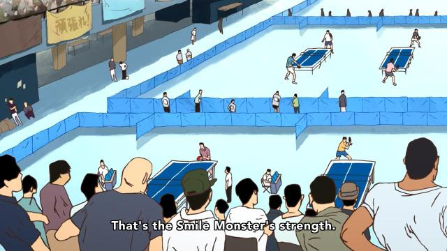 Ping Pong the Animation episode 9 notes - Obaba knows Smile is a monster