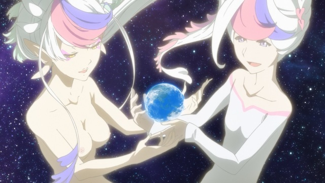Concrete Revolutio: Choujin Gensou anime Episode 17 notes - Devila and Devilo hold Earth