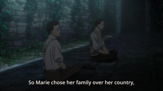 Joker Game anime episode 3 - Jitsui and the partisans