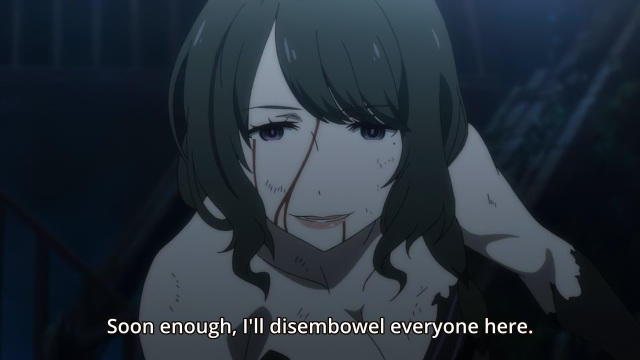 re:Zero Kara Hajimeru Isekai Seikatsu anime / Re:ZERO -Starting Life in Another World- / ReZero anime episode 3 - Elsa Granhiert wants to disembowel everyone
