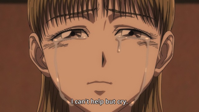 Ushio to Tora anime episode 28 - Crying Inoue Mayuko