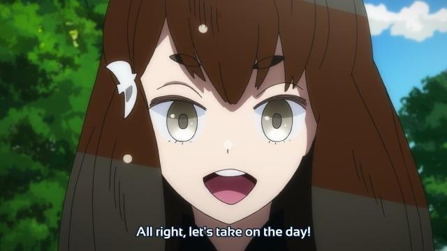 Gatchaman Crowds anime episode 12 - Ichinose Hajime takes on the day