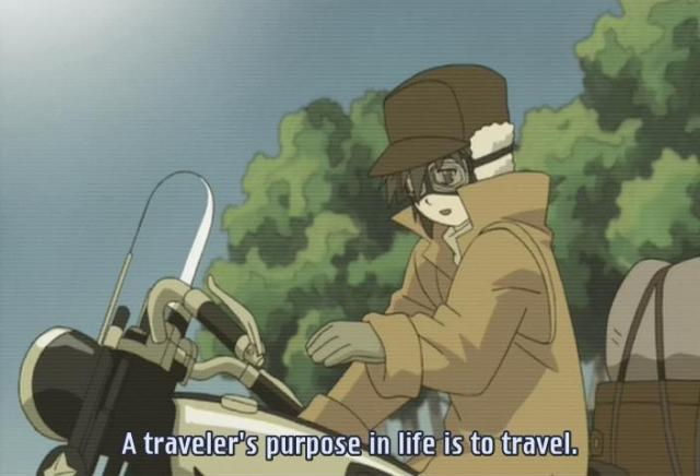 Kino's Journey anime episode 1 / Kino no Tabi anime episode 1 - A traveler's purpose